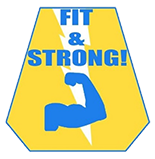 Fit & Strong! Logo